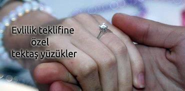 evlenme teklifi yüzükler